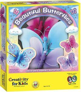 Creativity for Kids Kit Beautiful Butterflies