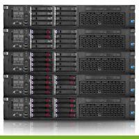 HP Proliant DL380 G7 Server Dual Xeon E5520 QC 2.26GHz 16GB 2x 146GB P410i DVD