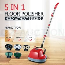 5 in 1 Floor Polisher Timber Carpet Tile Cleaning Wax Scrubber Buffer Cleaner