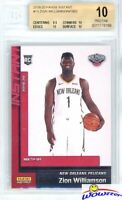 ZION WILLIAMSON 2019 Panini #13 NBA Tip Off NEW ORLEANS ROOKIE BGS 10 PRISTINE