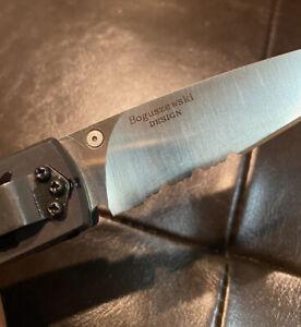 """Vintage 9.25"""" Benchmade Boguszewski Spike Knife """"appears Unused"""""""
