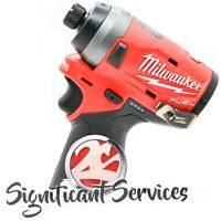 """New Milwaukee 2553-20  M12 12V FUEL Brushless 1/4"""" Hex Impact Driver Tool Only"""