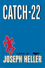 CATCH 22 - BOOK COVER POSTER - 24x36 SHRINK WRAPPED - JOSEPH HELLER CLASSIC 4829