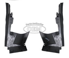 2000-2004 Ford Focus Air Deflector 3 Piece Set - Front Lower Radiator Air Dams