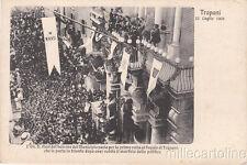 * TRAPANI - Nasi dal balcone del Municipio 1908