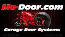 """Mo-Door Model 2301 Simple Push Button Motorcycle Garage Door Opener 12""""cord"""