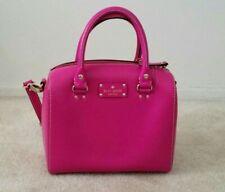Kate Spade Pink Magenta Satchel Handbag NWOT Leather Crossbody Fucshia