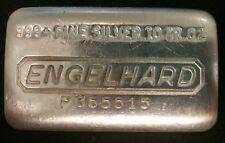 10oz Silver Engelhard .999 11th P Series Bar