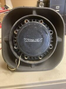whelen siren speaker - tested