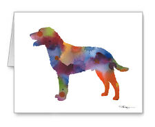 Curly Coated Retriever Note Cards With Envelopes