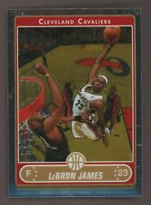 2006-07 Topps Chrome LeBron James Cleveland Cavaliers