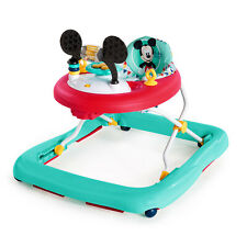 Baby Walker Mickey Mouse Happy Triangles With Activity Station 3 Height Position