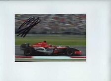 Christijan Albers Spyker MF1 Italian Grand Prix 2006 Signed Photograph