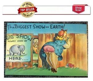 Vintage 1960's Comic Postcard # 358