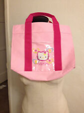 New 2001 Sanrio HELLO KITTY JAPAN  Canvas Tote Bag MATSUYA 50 YEARS