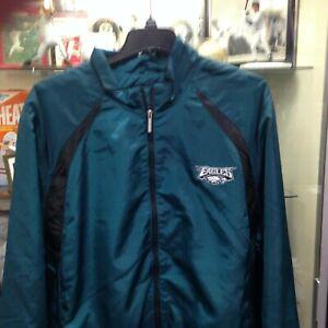Philadelphia Eagles Mens 3XL F/Z Windbreaker Jacket Reebok NEW w/tags