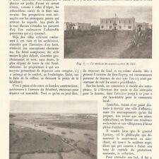 Maroc Rabat - La naissance d'une capitale  - Article de presse 1914