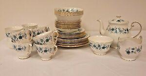 Colcough Braganza bone china set