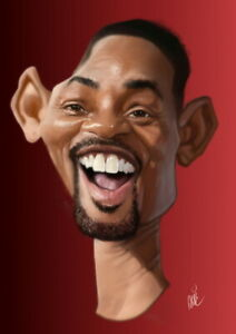 Digital caricature from photo like examples, Full Color, Unique Gift Idea