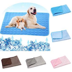 1PC Summer Cat Blanket Pet Dog Bed Washable Sofa Cooling Mat Pad Cool Furniture