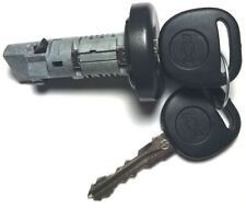 NEW GM OEM Ignition Key Lock Cylinder Switch W/2 Chevy Bow-Tie Logo Chip Keys
