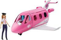 Barbie Avión de Tus Sueños Avión de Juguete con Muñeca y Accesorios para Niñas