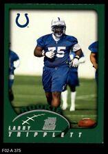 2002 Topps #375 Larry Tripplett Colts NM/MT