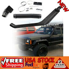 Cold Air Intake Rolling Head Snorkel Kit For 84-95 Jeep Cherokee XJ 4X4 4WD 2/4D
