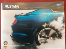 2019 Ford Bullitt Mustang dealer sales Brochure and GT Performance information