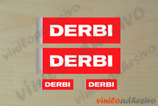 PEGATINA STICKER VINILO Derbi autocollant aufkleber adesivi