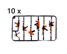 10pcs Military Weapon Accessories For Building Blocks Bricks Figures Model Toys