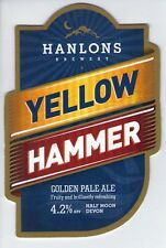 HANLONS BREWERY (CYRES) - YELLOW HAMMER PALE ALE (2) - PUMP CLIP FRONT