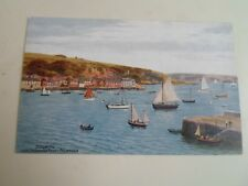 A R QUINTON Postcard 2318 FLUSHING From Greenbank Ferry, Falmouth §A2345