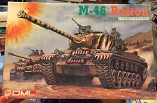 Hot Deal! Rare! 1/35 Dragon DML 6805: M-46 Patton Parts are sealed! Korean War