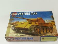 AIRFIX OO SCALE MODEL KIT PANTHER WWII German Tank Unmade Type 6 Oval Logo Box