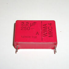 WIMA  2.2uF  Red Capacitor 250V