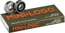 MINI LOGO - Precision Skate Rodamientos - Longboard Skateboard Minicruiser