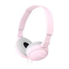 Sony MDR-ZX110 Stereo / Monitor Over-Head Headphones  In Pink