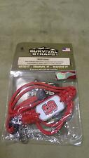 NEW Survival Straps Neck Identification ID Lanyard for NC North Carolina State