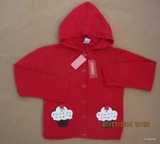 Gymboree Cupcake Cutie Sequin Pocket Red Button Hood Sweater 10 NWT New HCTS