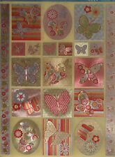 Dufex Stickers-Butterflies -  for card making-scrapbooking-