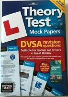Driving Test Success Mock Paper Theory Test Booklet with answers