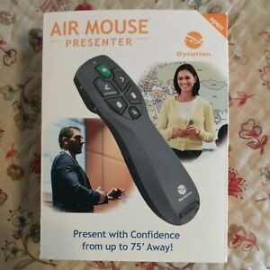 Gyration Air Mouse, 2017