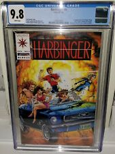 HARBINGER #1 - CGC 9.8 - With Coupon - White Pages - First Appearance Harbinger!