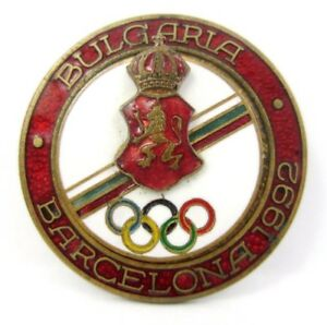 BULGARIA (NOC) OLYMPIC COMMITTEE PIN  FOR BARCELONA SUMMER OLYMPIC GAMES 1992