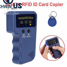 Handheld 125Khz RFID ID Card Copier Reader Writer Entry Door Lock Access Control