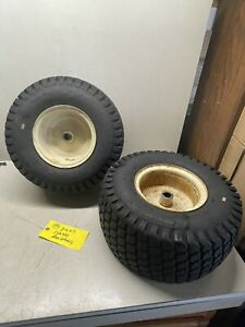 Cub IH International Harvester 382 Tractor Rear Wheels And Tires