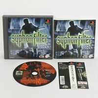 PS1 SYPHON FILTER Spine * Playstation p1