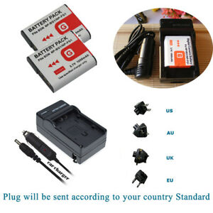 NP-BG1 NP-FG1 Type G Battery /Charger for Sony Cybershot W and H Series Camera