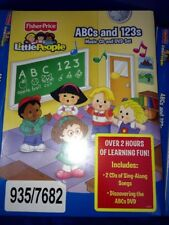 Fisher Price Little People ABCs & 123s Music CD and DVD Set, Various Artists, Go